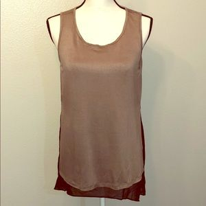 Two layer tank top